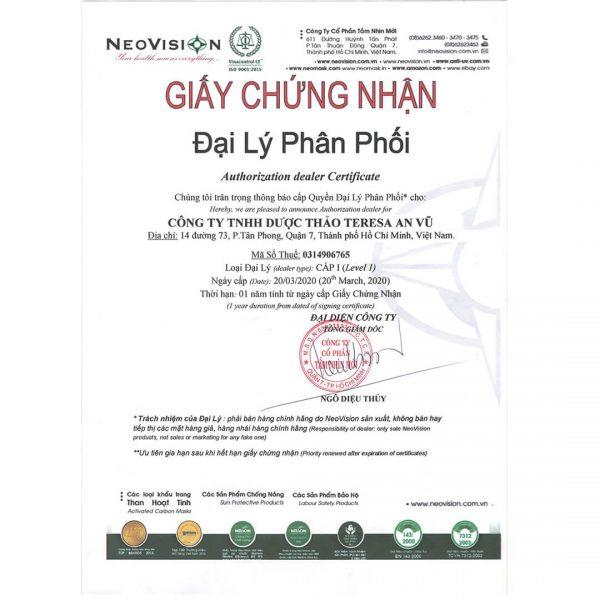 giay-chung-nhan-dai-ly-san-pham-neovision-teresaherbs